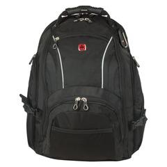 Рюкзак WENGER, универсальный, черный, 32 л, 36×19×47 см