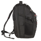 Рюкзак WENGER (Швейцария), универсальный, 34 л, черный, красные вставки, 34×22×46 см