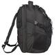 Рюкзак WENGER (Швейцария), универсальный, 34 л, черный, серебристые вставки, 34×22×46 см