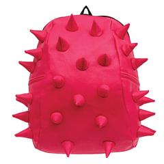 Рюкзак MADPAX «Rex 2 Half», универсальный, молодежный, 16 л, розовый, «Шипы», 36×31×15 см