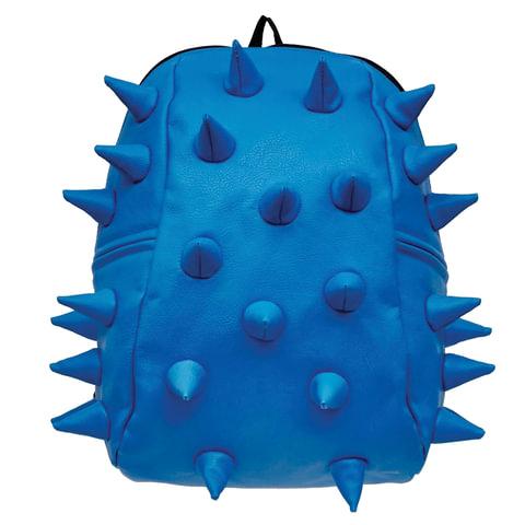 Рюкзак MADPAX «Rex 2 Half», универсальный, молодежный, 16 л, голубой, «Шипы», 36×31×15 см