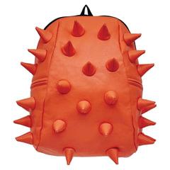 Рюкзак MADPAX «Rex 2 Half», универсальный, молодежный, 16 л, оранжевый, «Шипы», 36×31×15 см
