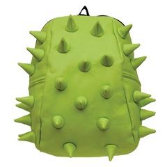 Рюкзак MADPAX «Rex 2 Half», универсальный, молодежный, 16 л, салатовый, «Шипы», 36×31×15 см