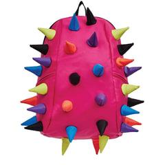 Рюкзак MADPAX «Rex 2 Full», универсальный, молодежный, 32 л, розовый, «Цветные шипы», 46×35×20 см