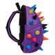 Рюкзак MADPAX «Rex 2 Half», универсальный, молодежный, 16 л, фиолетовый, «Цветные шипы», 36×31×15 см