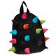 Рюкзак MADPAX «Rex Pint Mini 2», молодежный, мини, 5 л, черный, «Цветные шипы», 26×19×10 см
