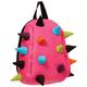Рюкзак MADPAX «Rex Pint Mini 2» молодежный, мини, 5 л, розовый, «Цветные шипы», 26×19×10 см