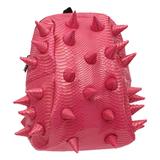 Рюкзак MADPAX «Gator Half», универсальный, молодежный, 16 л, розовый, «Шипы», 36×31×15 см