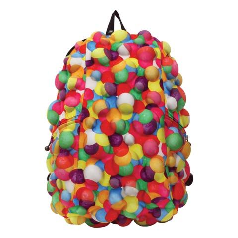 Рюкзак MADPAX «Bubble Full», универсальный, молодежный, 32 л, разноцветный, «Пузыри», 46×35×20 см