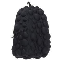 Рюкзак MADPAX «Bubble Full», универсальный, молодежный, 32 л, черный, «Пузыри», 46×35×20 см
