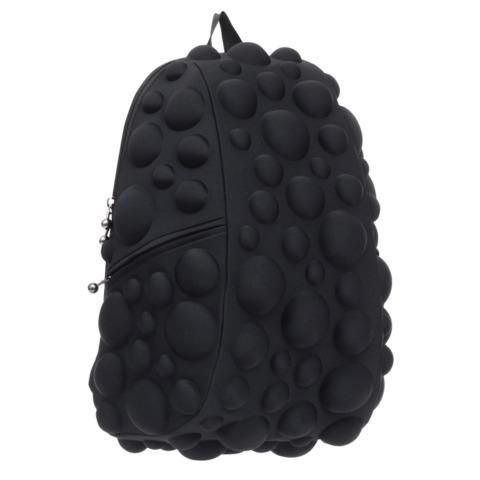 """Рюкзак MADPAX """"Bubble Full"""", универсальный, молодежный, 32 л, черный, """"Пузыри"""", 46х35х20 см"""
