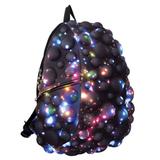 Рюкзак MADPAX «Bubble Full», универсальный, молодежный, 32 л, черно-синий, «Пузыри», 46×35×20 см