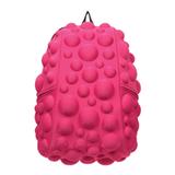 Рюкзак MADPAX «Bubble Half», универсальный, молодежный, 16 л, розовый, «Пузыри», 36×31×15 см