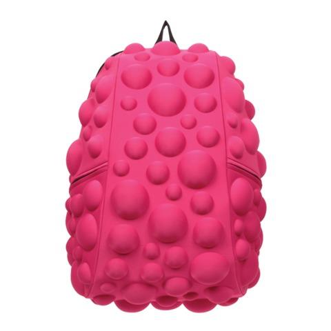 """Рюкзак MADPAX """"Bubble Half"""", универсальный, молодежный, 16 л, розовый, """"Пузыри"""", 36х31х15 см"""