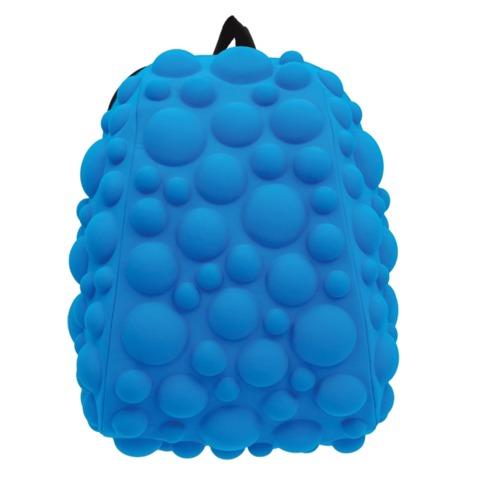 Рюкзак MADPAX «Bubble Half», универсальный, молодежный, 16 л, голубой, «Пузыри», 36×31×15 см