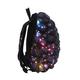 Рюкзак MADPAX «Bubble Half», универсальный, молодежный, 16 л, черно-синий, «Пузыри», 36×30×15 см