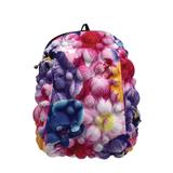 Рюкзак MADPAX «Bubble Half», универсальный, молодежный, 16 л, разноцветный, «Пузыри», 36×30×15 см