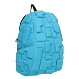Рюкзак MADPAX «Blok Full», универсальный, молодежный, 32 л, голубой, «Блоки», 46×35×20 см
