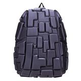 Рюкзак MADPAX «Blok Full», универсальный, молодежный, 32 л, серый, «Блоки», 46×35×20 см