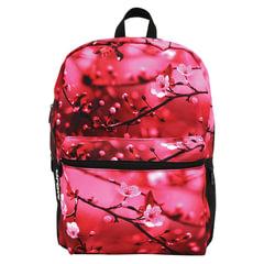 Рюкзак MOJO «Cherry Blossom», универсальный, молодежный, 20 л, розово-черный, «Цветы», 43×30×16 см