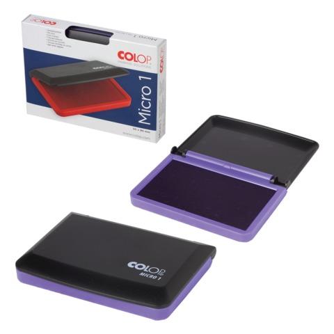 Штемпельная подушка COLOP, 50×90 мм, фиолетовая