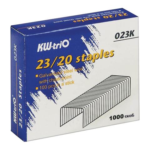 Скобы для степлера KW-trio №23/20, 1000 шт.