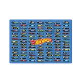 Доска для работы с пластилином HATBER, А3, 371×261 мм, «Машины» (Hot wheels)