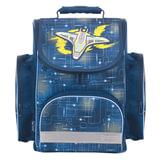 Ранец жесткокаркасный TIGER FAMILY (ТАЙГЕР), 18 литров, для учеников начальной школы, «Звездолет», 38×34×21 см