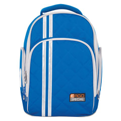 Рюкзак TIGER FAMILY (ТАЙГЕР), 19 л, с ортопедической спинкой, для средней школы, универсальный, голубой, 39×31×22 см