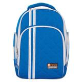 Рюкзак TIGER FAMILY (ТАЙГЕР), 19 литров, с ортопедической спинкой, для учеников средней школы, универсальный, голубой, 39×31×22 см