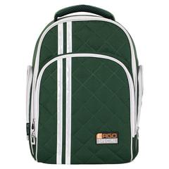 Рюкзак TIGER FAMILY (ТАЙГЕР), 19 л, с ортопедической спинкой, для средней школы, универсальный, хаки, 39×31×22 см