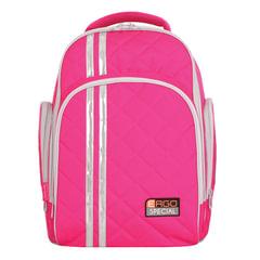Рюкзак TIGER FAMILY (ТАЙГЕР), 19 л, с ортопедической спинкой, для средней школы, универсальный, розовый, 39×31×22 см