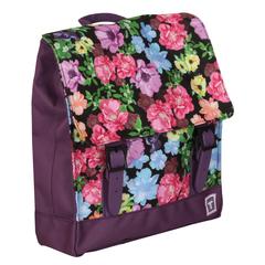 Рюкзак TIGER FAMILY (ТАЙГЕР), 4 л, для учениц начальной школы, фиолетовый, «Мини Ретро», 29×25×7 см