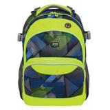 Рюкзак TIGER FAMILY (ТАЙГЕР) Дискавери, синий/<wbr/>зеленый, 23 л, 45×33×22 см