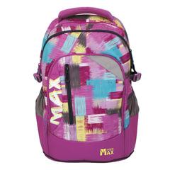 Рюкзак TIGER FAMILY (ТАЙГЕР) Гранж, фиолетовый, 22 л, 43×32×22 см
