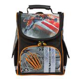 Ранец жесткокаркасный BRAUBERG, для учеников средней школы, «Тигр», 17 литров, 34×26×16 см
