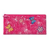 Пенал-косметичка BRAUBERG для учениц начальной школы, розовый, «Весна», 20×10 см