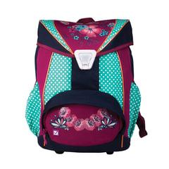 Рюкзак BRAUBERG для учениц, ортопедический, евроформат, EasyLock, «Горошек», 20 литров, 37×29×19 см