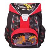 Рюкзак BRAUBERG для учеников, ортопедический, евроформат, EasyLock, «Спорткар», 20 литров, 37×29×19 см