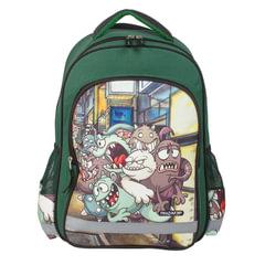 Рюкзак ПИФАГОР для учеников начальной школы, «Монстры», 15 литров, 38×28×14 см