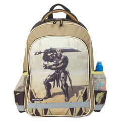 Рюкзак ПИФАГОР для учеников начальной школы, «Железный воин», 15 литров, 38×28×14 см