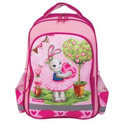 Рюкзак ПИФАГОР для учениц начальной школы, «Зайка», 15 литров, 38×28×14 см