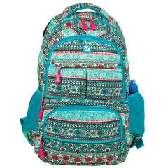 Рюкзак BRAUBERG для старшеклассников/<wbr/>студентов/<wbr/>молодежи, узоры, «Индия», 27 литров, 47×32×14 см