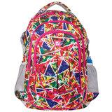 Рюкзак BRAUBERG для старшеклассников/<wbr/>студентов/<wbr/>молодежи, узоры, «Абстракция», 26 литров, 45×31×12 см
