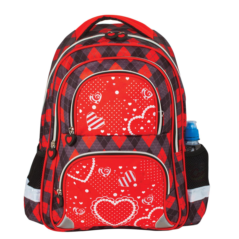 054f94e579ca Рюкзак BRAUBERG, с EVA спинкой, для учениц начальной школы,  «Сердце» ...