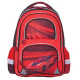 Рюкзак BRAUBERG (БРАУБЕРГ), с EVA спинкой, для учеников начальной школы, «Красная фурия», 12 литров, 38×30×14 см
