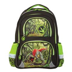 Рюкзак BRAUBERG, с EVA спинкой, для учеников начальной школы, «Динозавр», 12 литров, 38×30×14 см