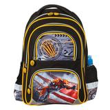 Рюкзак BRAUBERG (БРАУБЕРГ), с EVA спинкой, для учеников начальной школы, «Тигр», 12 литров, 38×30×14 см