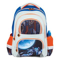 Рюкзак BRAUBERG, с EVA спинкой, для учеников начальной школы, «Космолет», 12 литров, 38×30×14 см