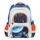Рюкзак BRAUBERG (БРАУБЕРГ), с EVA спинкой, для учеников начальной школы, «Космолет», 12 литров, 38×30×14 см